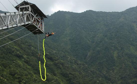 bungy jumping pokhara